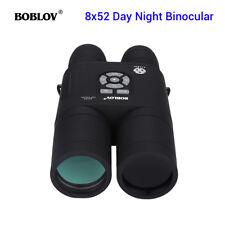 8x52 Óptico Telescopio Binocular de alcance de visión nocturna por infrarrojos FR caza viendo