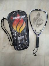 Ektelon Turbo Racket Ball Racket with Carrying Cover Blue
