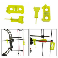 Bow Tuning and Mounting String Level Combo Archery Compound Bow Arrow Level Nock