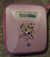 Vtech InnoTab Systems Storage Tote Purple-Pink w/Flowers 80-200550 InnoTab3