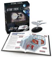 Star Trek USS ENTERPRISE NCC 1701 & NCC 1701-A Handbook HC W/ Starship Eaglemoss