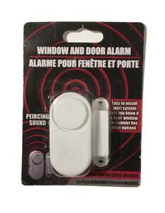 Window / Door Alarm Device Battery Powered Noise Alert Universal Home Security