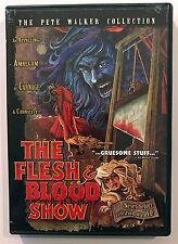 THE FLESH AND BLOOD SHOW (1972) Unrated Widescreen Pete Walker Horror DVD