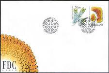 Finland Aland FDC 1999 Lichens (2) Mint