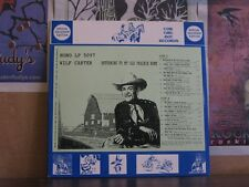 WILF CARTER MONTANA SLIM RETURNING - COW GIRL BOY LP