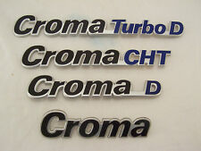 LOTTO N2 FIAT CROMA COLLECTION 4 SCRITTE ORIGINALI NUOVE