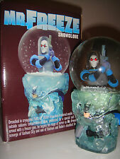 DC DIRECT MR. FREEZE SNOWGLOBE W/BOX BATMAN Statue The DARK KNIGHT Robin Bust