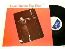 LOUIS NELSON Big Four Vol 2 Joe Robichaux George Lewis LP