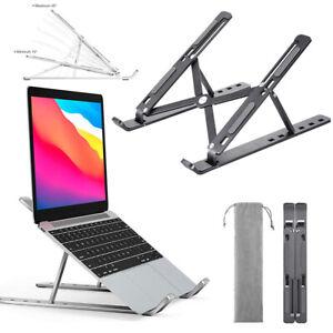 Aluminum Adjustable Laptop Stand Foldable Notebook Tablet Riser Tablet Holder US