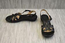 **Naturalizer Neo Slingback Sandals - Women's Size 8W - Black