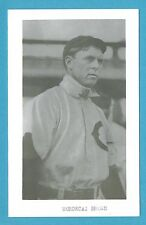 Mordecai Three Finger Brown Vintage Baseball Postcard With Name on Front GRN