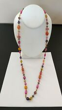 "Premier Designs Jewelry SPRING FEVER Necklace NWOT 36"" w/4"" Extender"