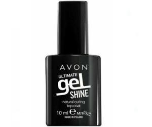Avon Ultimate Gel Shine Natural Curing TOP COAT Nail Chip Resistant 7 days -10ml
