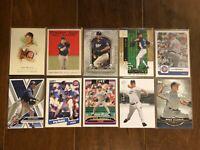 Greg Maddux - Chicago Cubs - 10 Baseball Card Lot - No Duplicates