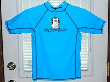 NWT, Maui and Sons UV Rash Guard Shirt Child Size S (4/6) Water Surf Swim Fast