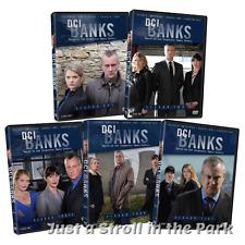 DCI Banks: Complete UK Crime TV Series Seasons 1 2 3 4 5 Box / DVD Set(s) NEW!