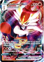 POKEMON CINDERACE VMAX 036/192 FULL ART ULTRA RARA HOLO FRAGORE RIBELLE