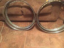 Two 24 Inch Forgiato Wheel Barrels Good Condition