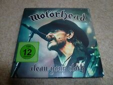 MOTORHEAD-Clean Your Cloth  CD/DVD WITH BOOKLET TOP COPY