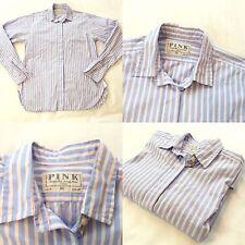 Thomas Pink Womens Shirt Long Sleeve Size 10 100% Cotton Office Style Shirt VGC