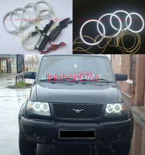 4pcs Excellent Angel Eyes kit Halo Rings For UAZ Patriot Baijah Tulos 2007-2014