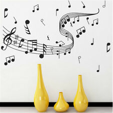 Art Mural Wall Music Musical Sticker Notes Removable Decal Room Home Decor
