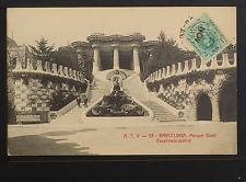2403.-BARCELONA -33 Parque Güell Escalinata central (1913)