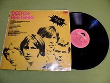 Bee Gees - Best Of - RARE 1969 Israel 1st Press Hebrew Printed DIFFERENT Sleeve