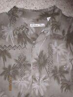 Men's BATIK BAY Short Sleeve Aloha 100% Rayon Hawaiian Shirt  Size XXL