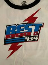 CM Punk Best in the World 434 Women's 2XL Special Edition T-Shirt WWE ROH UFC