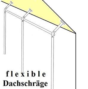 Dachschräge 3 Varianten Wandkleiderständer Kleiderstange Garderobe St.09.100-300