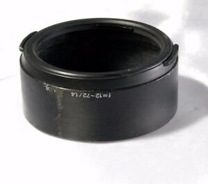 Sony F=12~72/ 1.4 Lens Hood mavica 12-72mm f1.4 digital camera