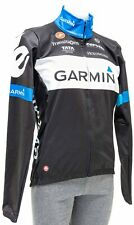 Castelli Garmin Pro Cycling Team Wind Jacket Men XL Black Road Bike Cervelo Race