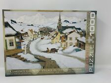 Village in the Laurentians 1000 Piece Jigsaw Puzzle by Eurographics COMPLETE