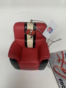 Tampa Bay Buccaneers Chair NFL FOCO Collectible Team Christmas Ornament