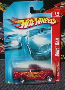 2007 Hot Wheels Code Car 14/24 Dodge Power Wagon 98/180