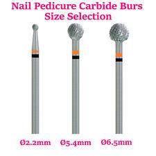 Tungsten Carbide Nail Pedicure Bit Drill Shank 3/32 Fresas Burr Cuticle Remove
