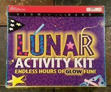 Lunar Activity Kit: Glow In The Dark Arts & Crafts - Stencils, Paint, Glow Stars