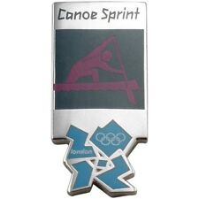 2012 London Olympics official pictogram CANOE SPRINT Canoeing PIN badge MIP mint