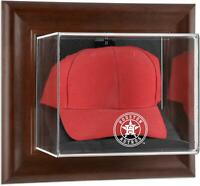 Astros Brown Framed Wall- 2013 Logo Cap Case - Fanatics
