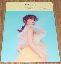 TAEYEON MY VOICE DELUXE SMTOWN COEX Artium SUM GOODS PAPER FOLDER + PHOTO CARD B