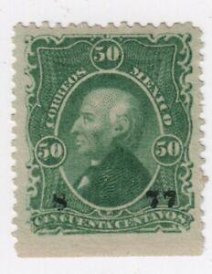Mexico,1874,Scott#115,50c,Wmk.P.Sellado,MH,Chih(8-77),MEPSI Cert, Scott=$650,shy