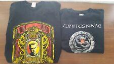 Vintage Tour Shirt Lot Billy Idol Whitesnake 2005