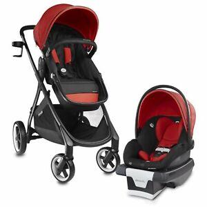 Evenflo 6 in 1 Baby Stroller and Car Seat Gold SensorSafe Smart Modular Travel