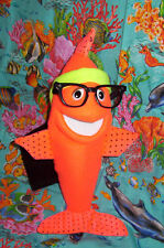 Blacklight Stand Up Fish Ventriloquist Puppet -ministry, Aquatic Education
