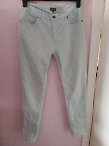 Ladies Phase Eight UK 12 Light Aqua Blue Denim Skinny Jeans