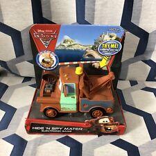 Disney Pixar Cars 2 Hide N Spy Mater Electronic Game 2010 (NEW)