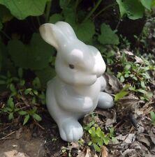 """Latex rabbit mold 4"""" x  3"""" plaster cement concrete mould"""