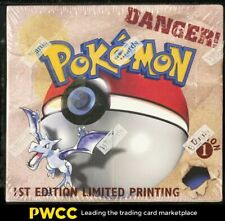 1999 Pokemon Fossil 1st Edition Factory Sealed Booster Box, 36ct Packs
