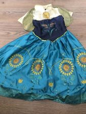Princess Anna Frozen Let It Go Fancy Dress Up Outfit Costume 3-4 Years